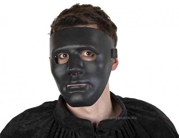 Maske schwarz, neutral