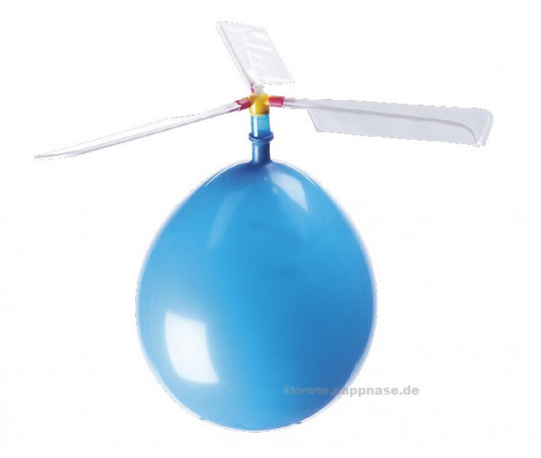 Helikopter-Ballon
