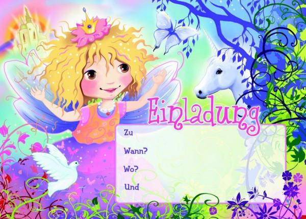 Einladungsset A5 Prinzessin