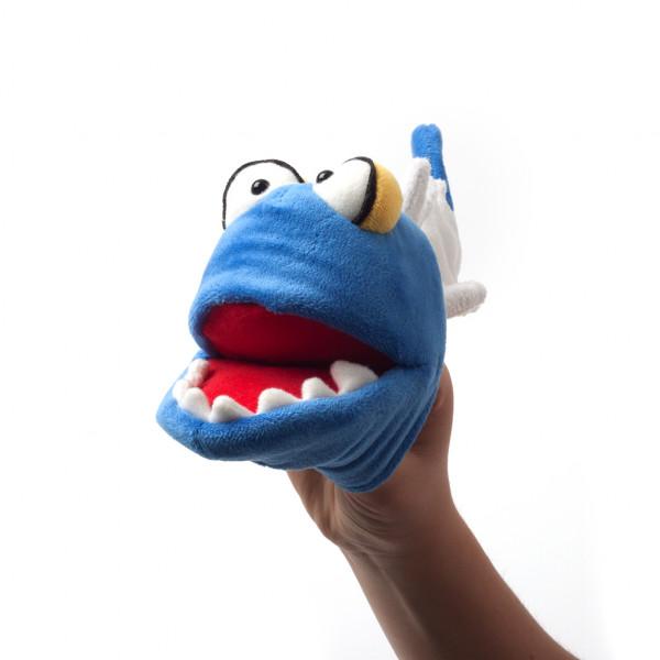 Handpuppe Alex-Zander, der Fischrest