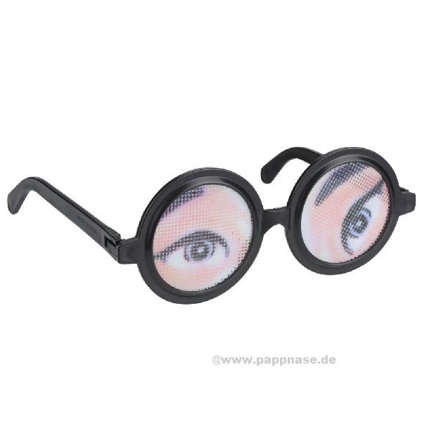 Spaßbrille Augen