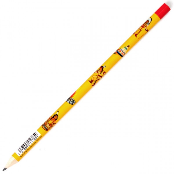 Bleistift Indianer