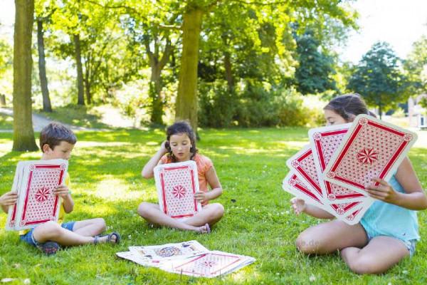 Riesenkartenspiel