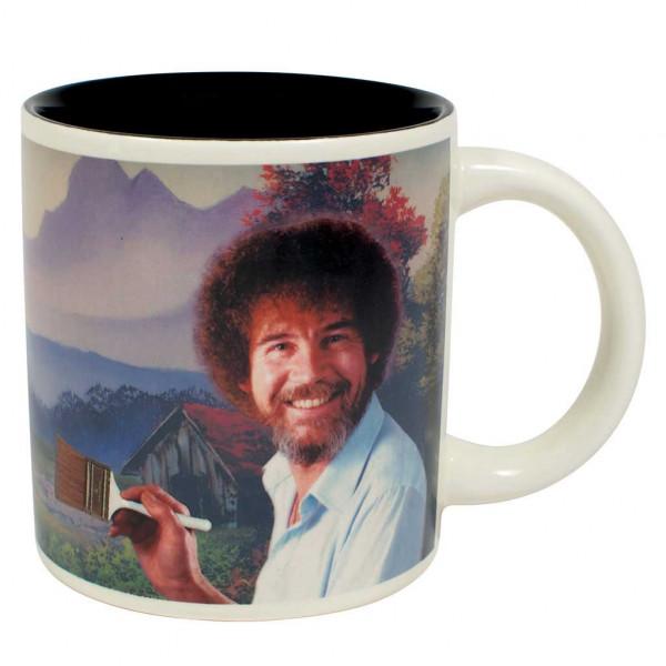 Bob Ross Kaffeebecher