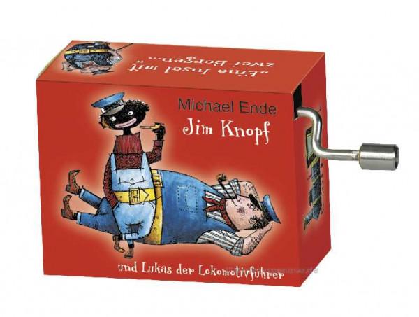 Kurbelspieluhr Jim Knopf