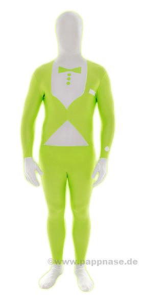 Morphsuit Motiv, neon-grün, klein, Smoki MORPHSUITS