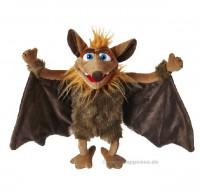 Handpuppe Tamika, die Fledermaus Living Puppets