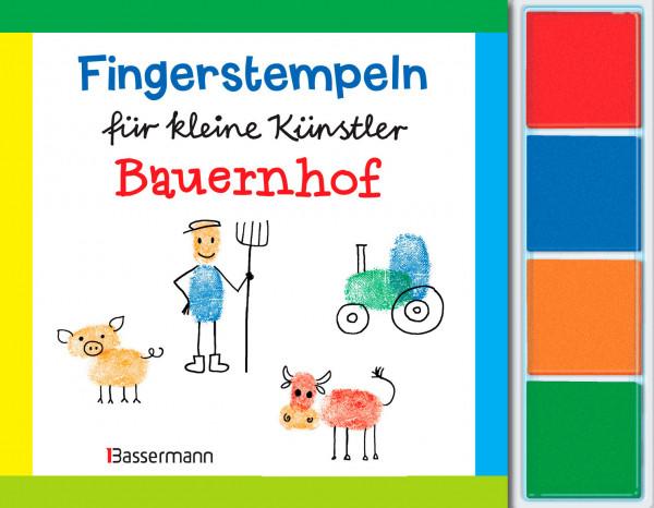 Fingerstempel für kleine Künstler - Bauernhof