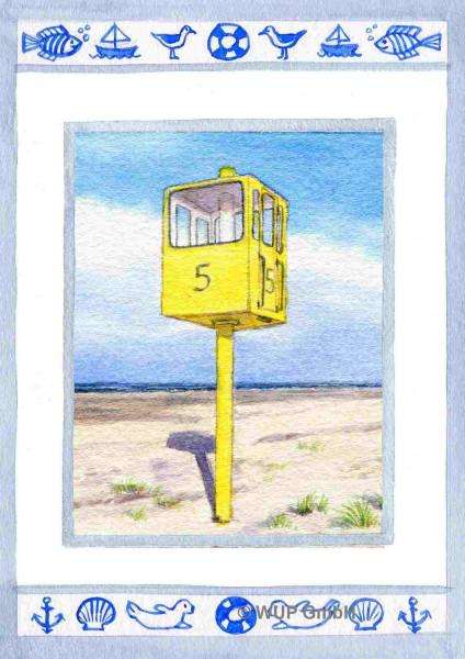 Postkarte Turm