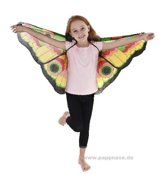 Schmetterlingsflügel Augen - bunt