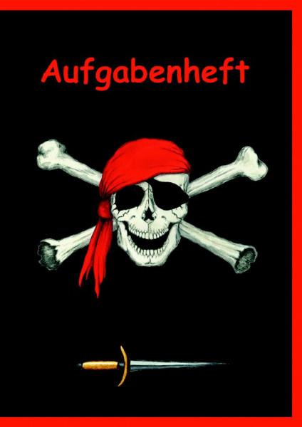 Aufgabenheft A5 Piratenflagge