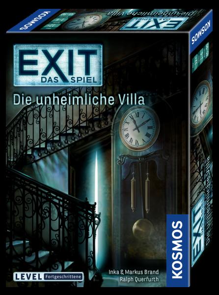 EXIT-Das Spiel - Die unheimliche Villa
