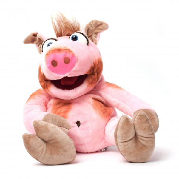 Handpuppe Stulle, das Schweinchen