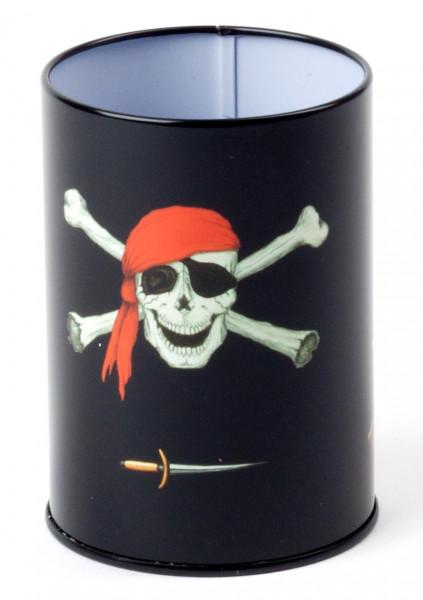 Stifteköcher Piratenflagge