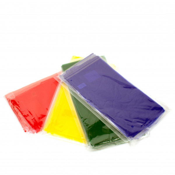 Jongliertuch Set - 12 Stück Grundfarben
