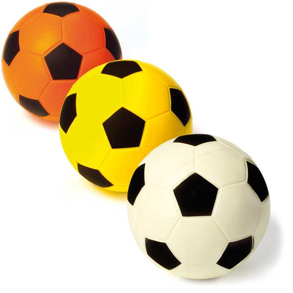 PE-Schaumstoff-Fußball