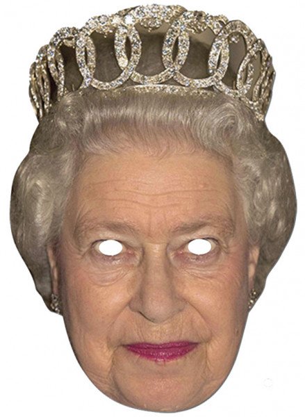 Promi-Maske - Queen Elisabeth