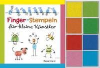 Finger-Stempeln für kleine Künstler - Buch + Stempelfarben