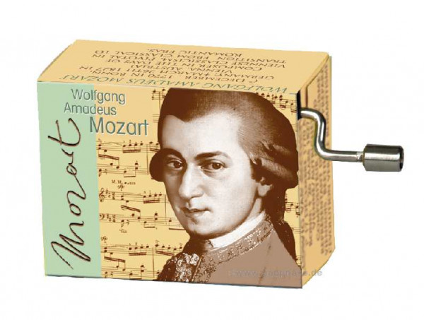 Kurbelspieluhr Mozart Kleine Nachtmusik
