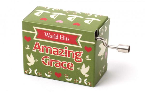 Kurbelspieluhr Amazing Grace