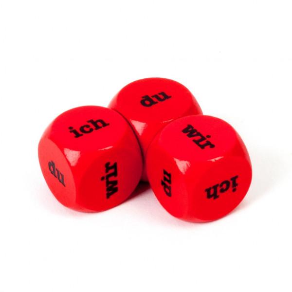 Würfel -Ich-Du-Wir-, rot
