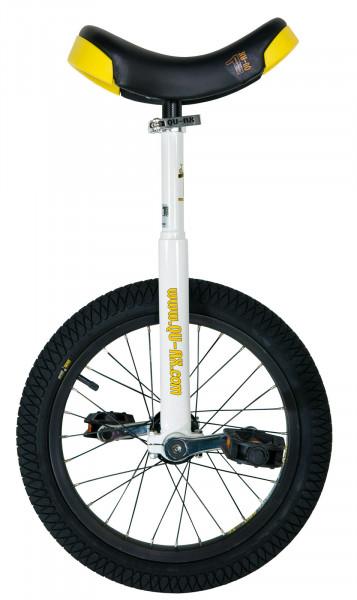 Einrad Luxus Sport 16'' - weiß