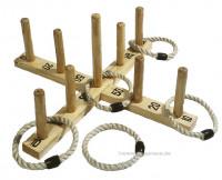 Wurfringspiel aus Holz Goki
