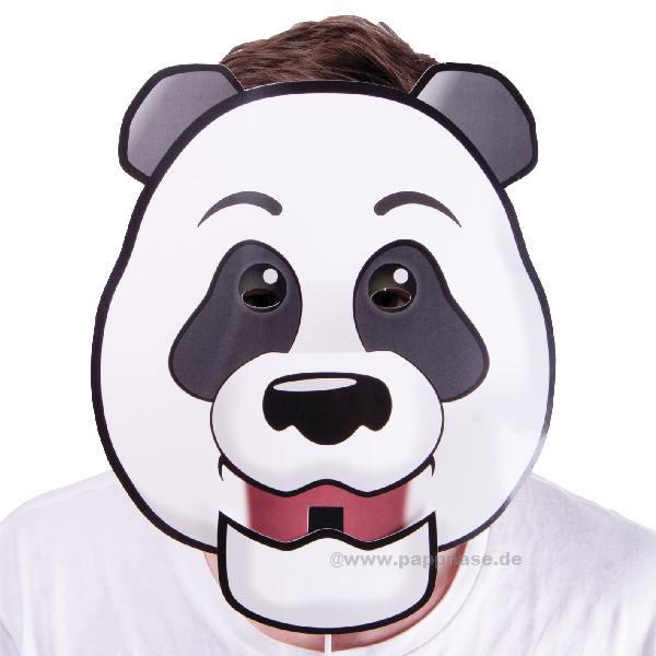 Maske mit beweglichem Mund, Panda