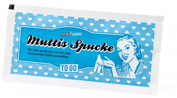 Muttis Spucke