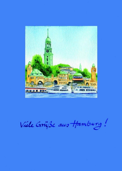 Postkarte A6 Michel