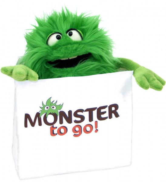 Handpuppe Schlick Monster to go