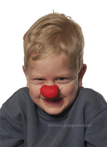 Kinder-Clown-Nase-klein Pappnase