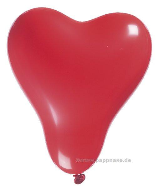 Luftballons Herzen