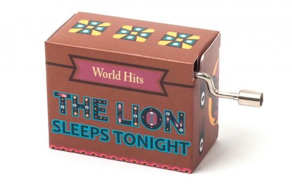 Kurbelspieluhr The Lion Sleeps Tonight