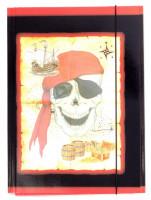 Sammelmappe A4 Piraten-Schatzkarte