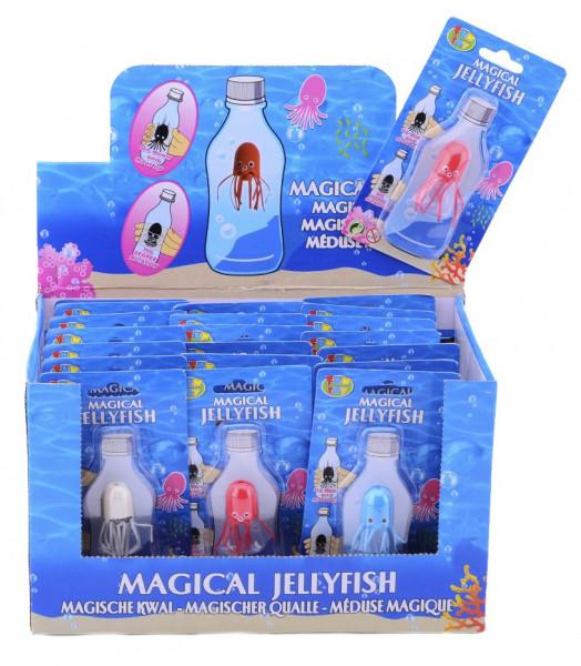 Magische Qualle Flaschentaucher