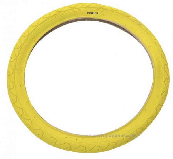"""Einradreifen 18"""" gelb"""