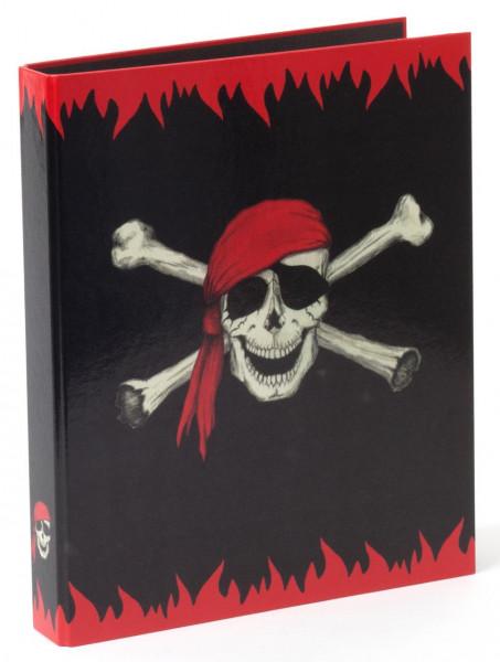 Ringbuch A4 Piraten-Totenkopf, 2-Rg 30mm