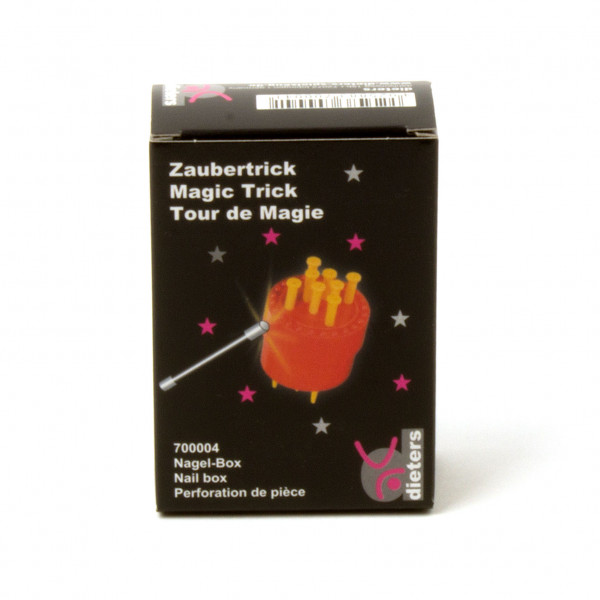 Zaubertrick Nagel-Box