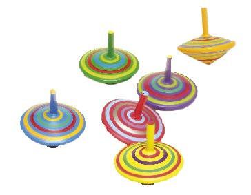 Kreisel Ringe bunt