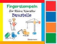 Fingerstempel für  kleine Künstler - Baustelle