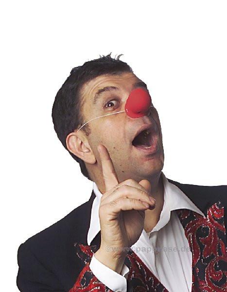 Clown-Nase - Knubbel Pappnase