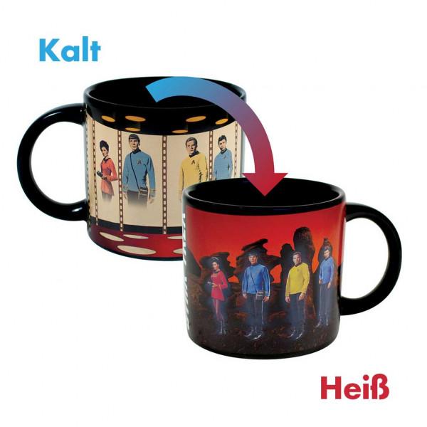 Star Trek Transporter Kaffeebecher