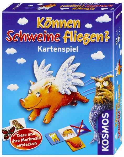 Können Schweine fliegen Kartenspiel