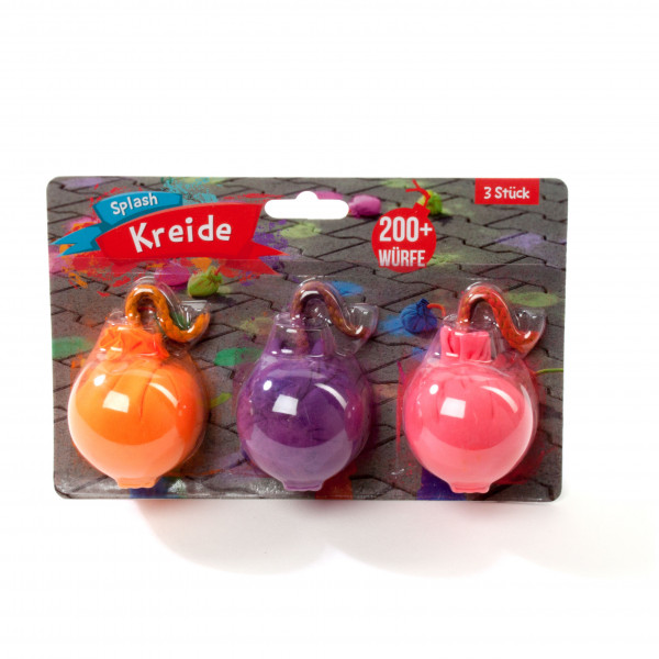 Splash Kreide 3er-Set