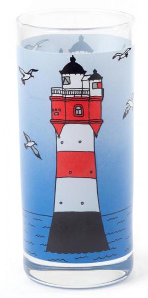 Glas Leuchtturm Roter Sand 0,25 l