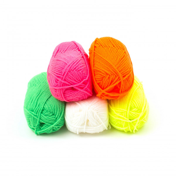 Neon-Wolle - 50 g