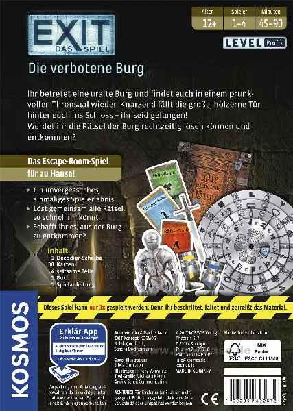 EXIT-Das Spiel Kosmos
