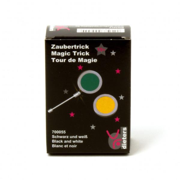 Zaubertrick Schwarz und Weiss