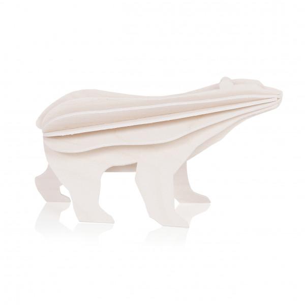 Lovi Holzfigur Eisbär klein